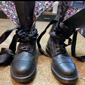 Dr Martens Girly Combat Boots